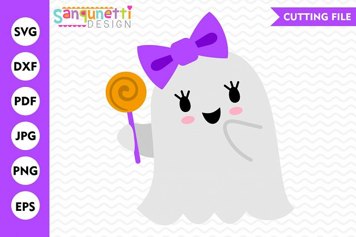 Girl Ghost SVG, Ghost svg, Halloween svg, Fall svg, DXF