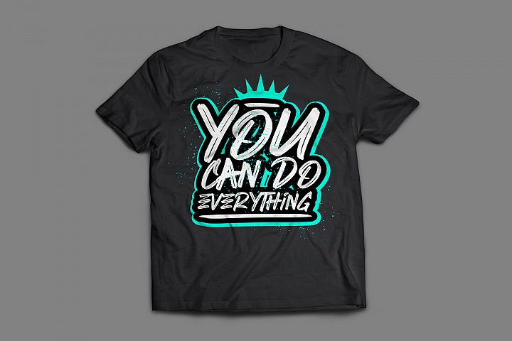 you can do everything lettering typography