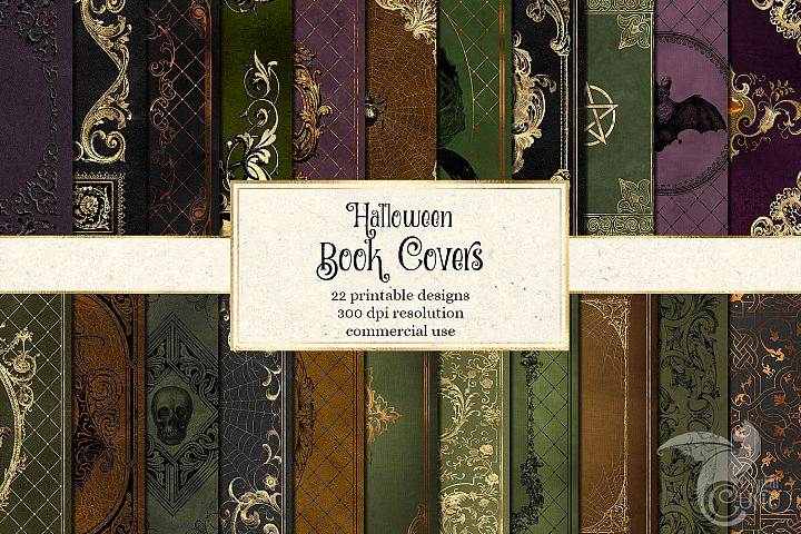 Halloween Book Covers