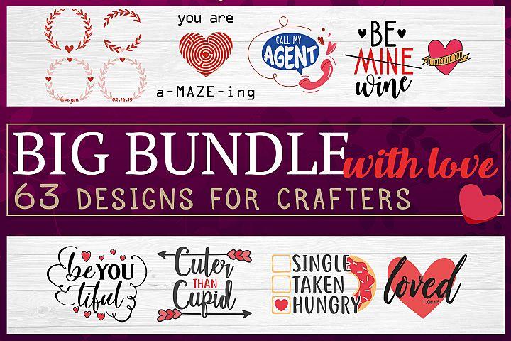 Big Bundle With Love - Valentines Mega Bundle