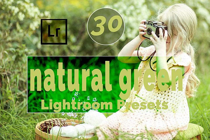 Natural Green Lightroom Presets