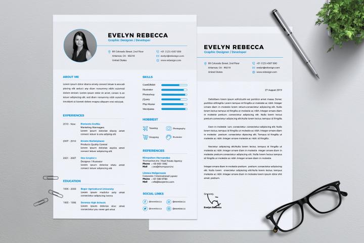 Minimalist CV Resume