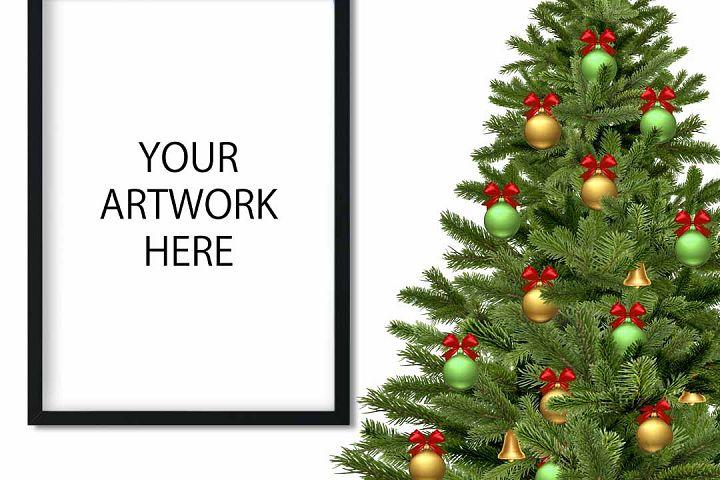 Christmas Mockup Frame for Etsy / Instagram example 3