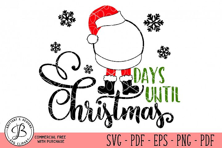 Christmas Countdown SVG