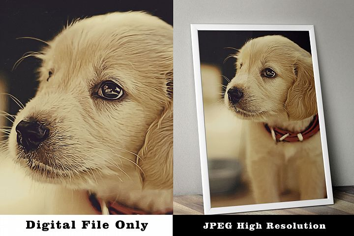 Poster Adorable Puppy
