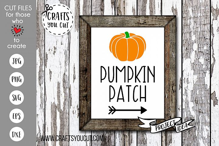Pumpkin Patch 2 Cut File