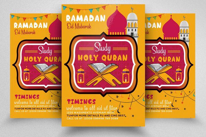 Ramadan Kareem Flyer