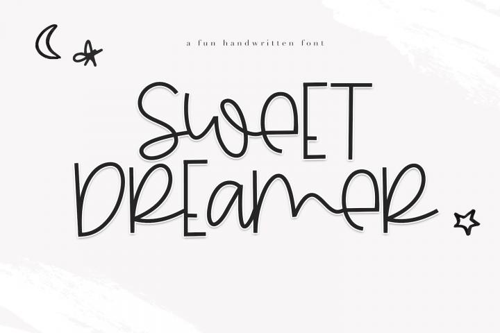 Sweet Dreamer - A Fun & Mismatched Font