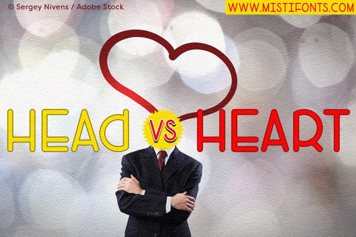 Head Versus Heart