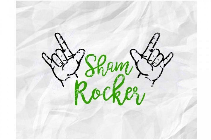 St Patricks Day Svg, Sham Rocker Svg, Irish Svg, St Pattys