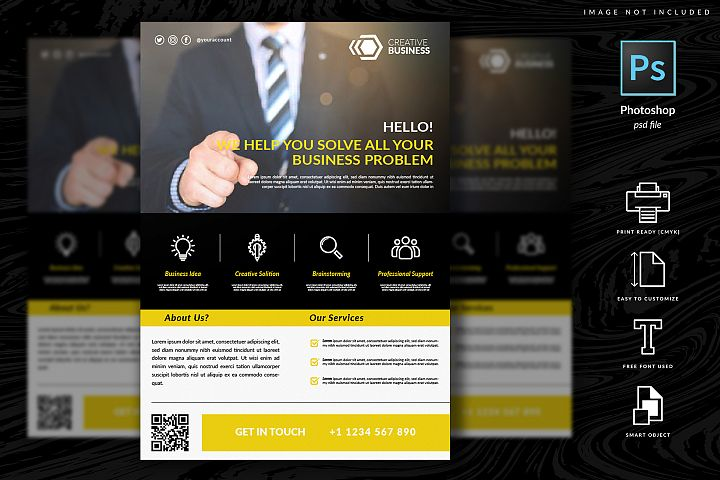 Multipurpose Corporate Flyer Template Vol. 10