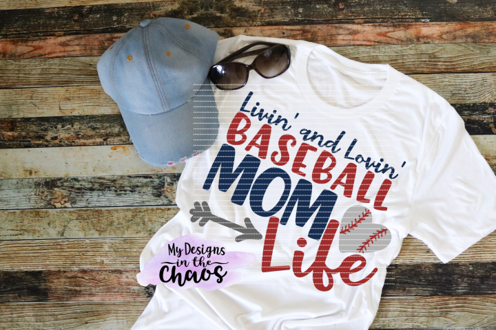 Baseball Mom SVG | Baseball SVG | Baseball Cutting File | Silhouette | Cricut