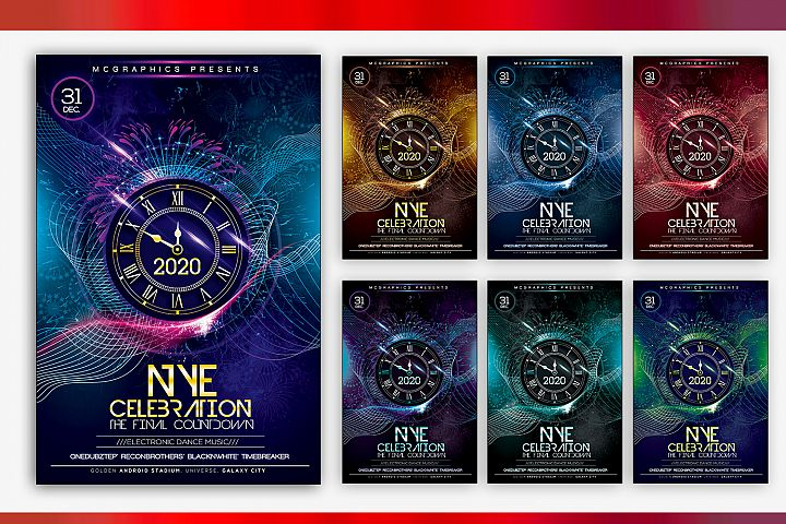 2020 NYE Celebration Final Count Down
