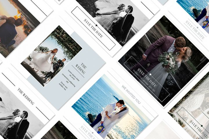 Wedding Social Media Post Template
