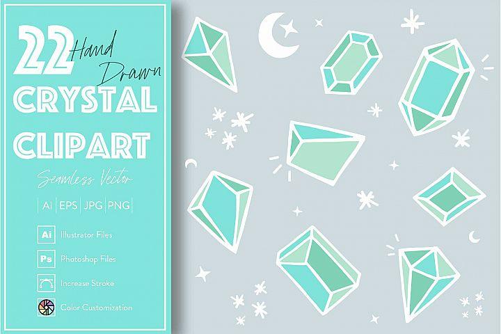 22 Crystal Diamond Elements