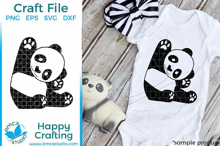 Baby Panda SVG