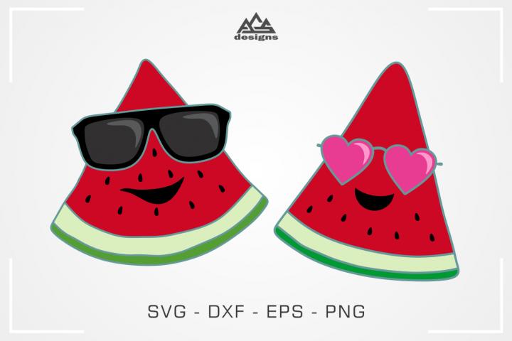 Cute Melon Summer Time Melon Svg Design