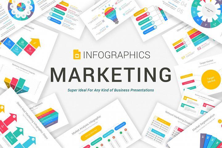 Marketing Google Slides Infographics