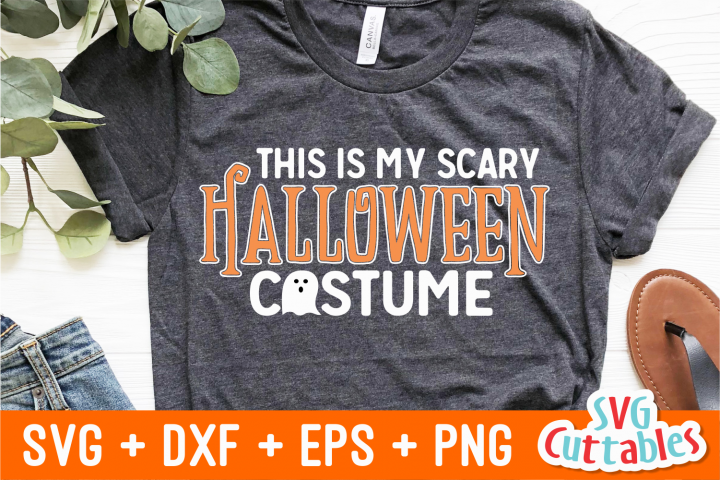 This is My Scary Halloween costume | SVG Cut File