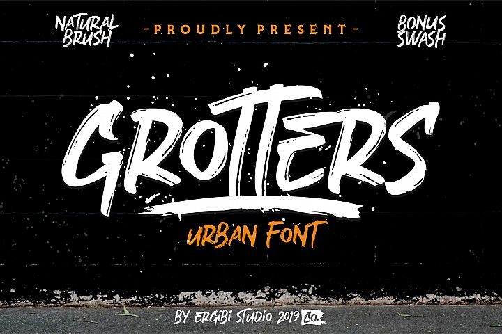 Grotters Urban Font