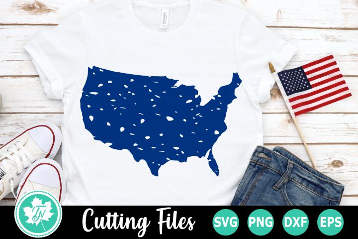 Grunge America - An American SVG Cut File