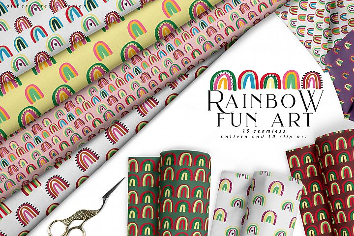 Rainbow Fun Art