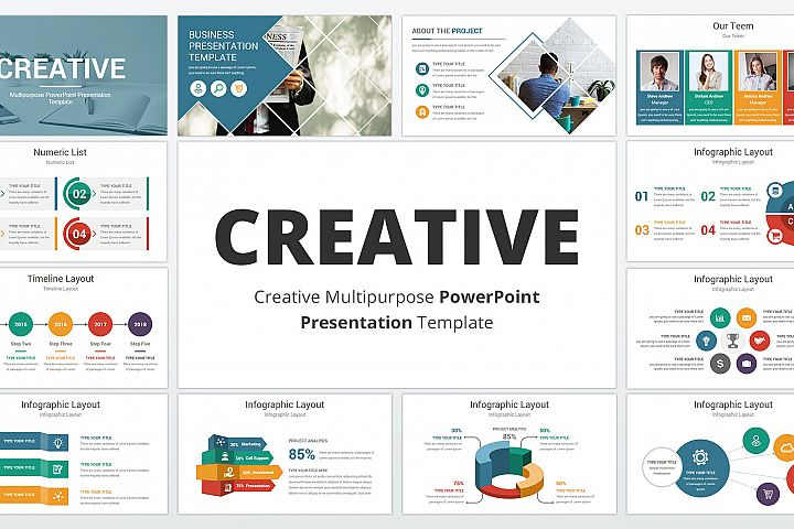 Creative multipurpose PowerPoint Presentation Template