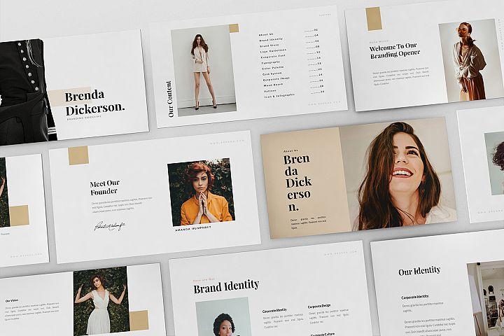 Brenda - Brand Guideline Powerpoint