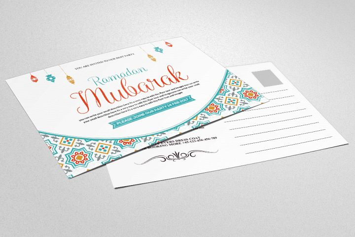 Ramadan & Eid Mubarak Greeting Card
