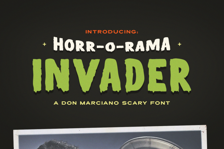 Invader Scary Font