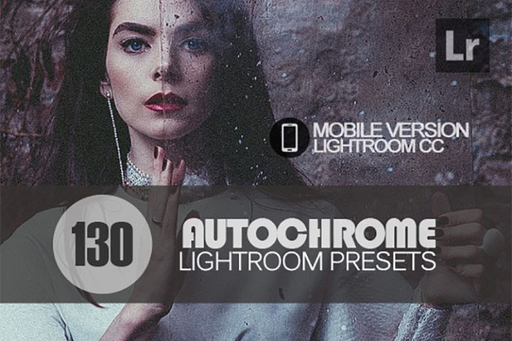 130 Autochrome Lightroom Mobile bundle Presets