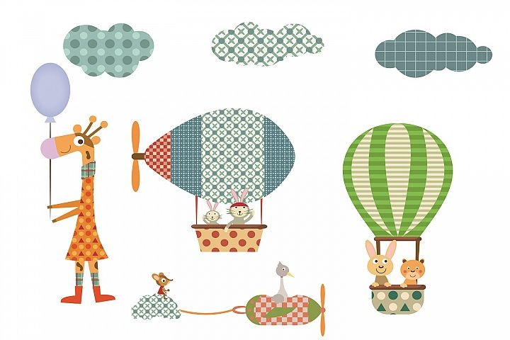 Flying Animals illustration Pack
