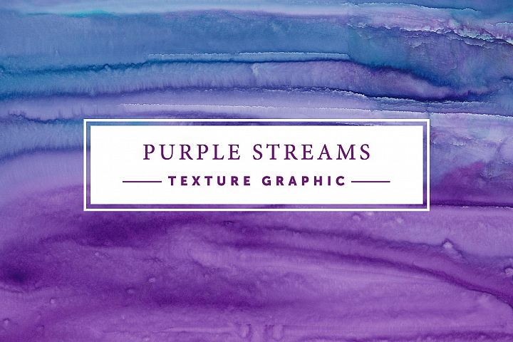 Purple Streams | Texture Graphic