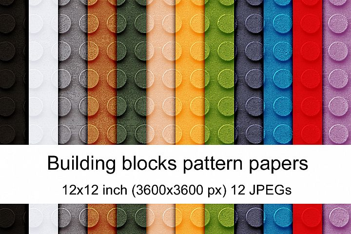 Building blocks pattern papers