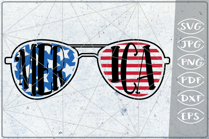 Merica SVG 4th of July Independence Day Crafters Patriotic