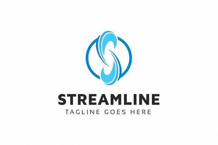 Streamline S Letter Logo