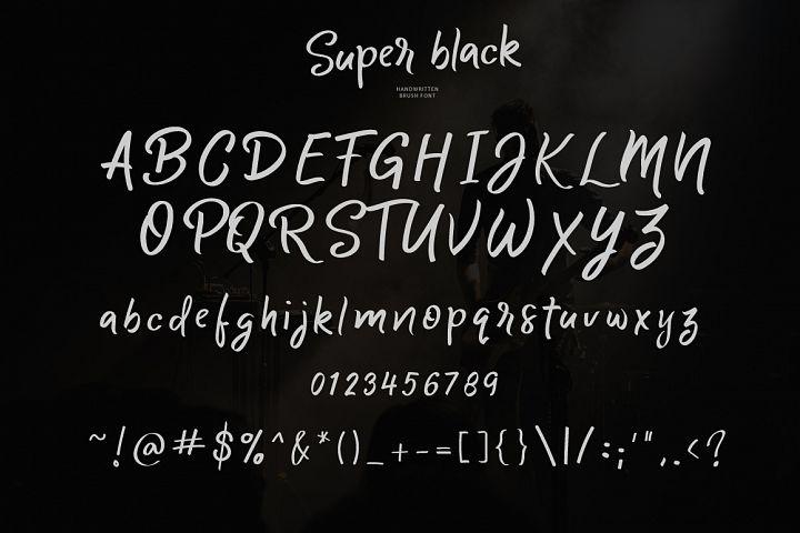 Super black example image 2