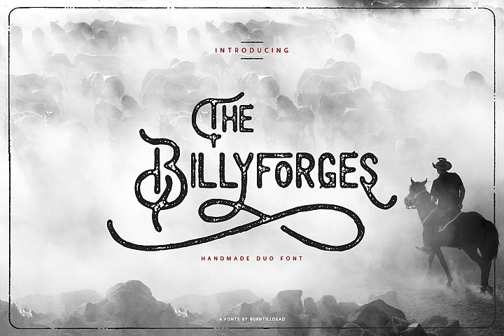 The Billyforges - Duo Fonts