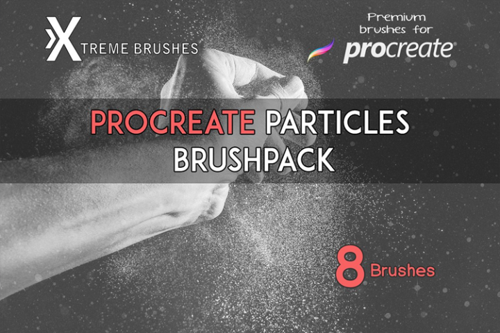 Procreate Particles Brushpack