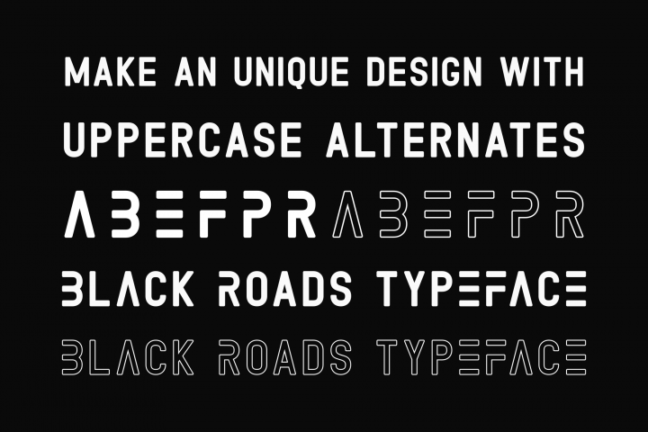Black Roads example image 4
