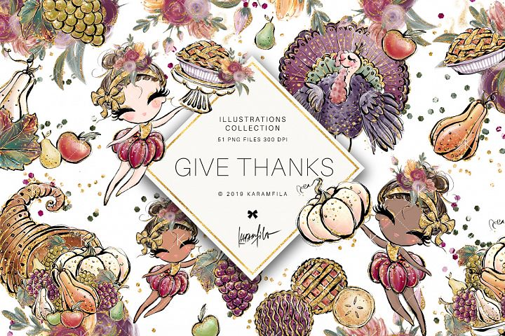 Thanksgiving Fall Clipart