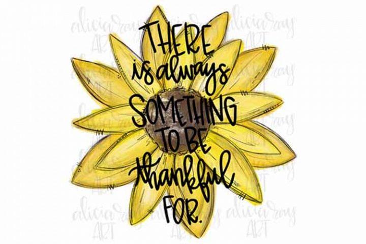 Thankful Sunflower