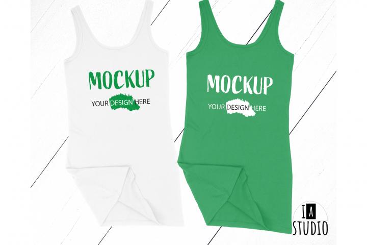 Patrick Day Tank Top Mockup / Bella Canvas / Matching Mockup