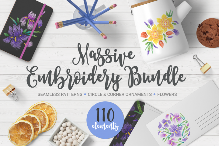 Embroidery Mega Bundle