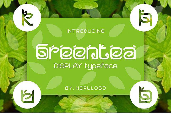Greentea Logo Font