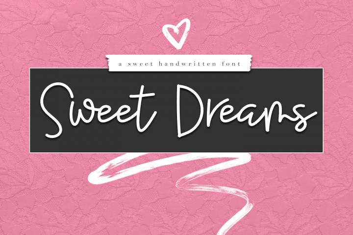 Sweet Dreams - Handwritten Script Font