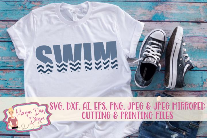 Swim SVG, DXF, AI, EPS, PNG, JPEG