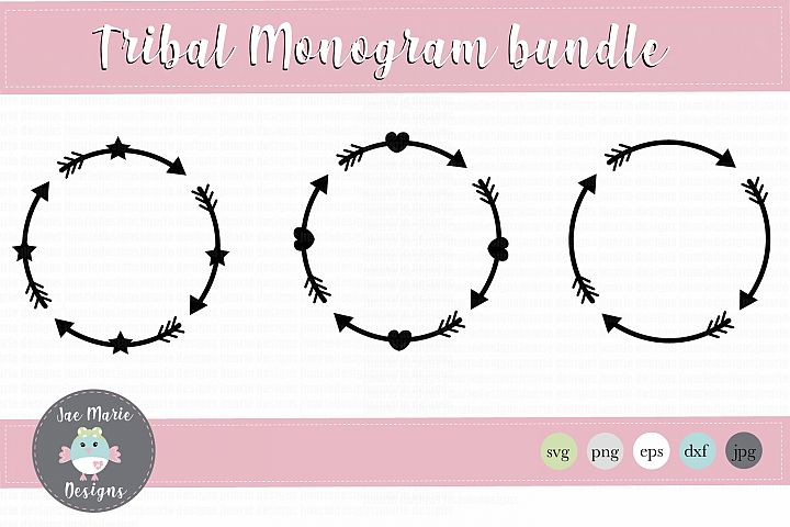 Arrow svg, arrow monogram svg, monogram svg, cute monogram