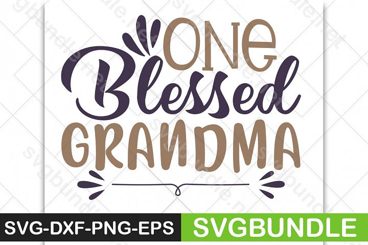 One Blessed Grandma SVG|Halloween SVG|Pumpkin SVG