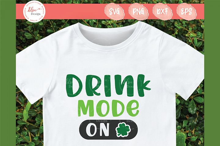 Drink Mode On SVG Cut Files